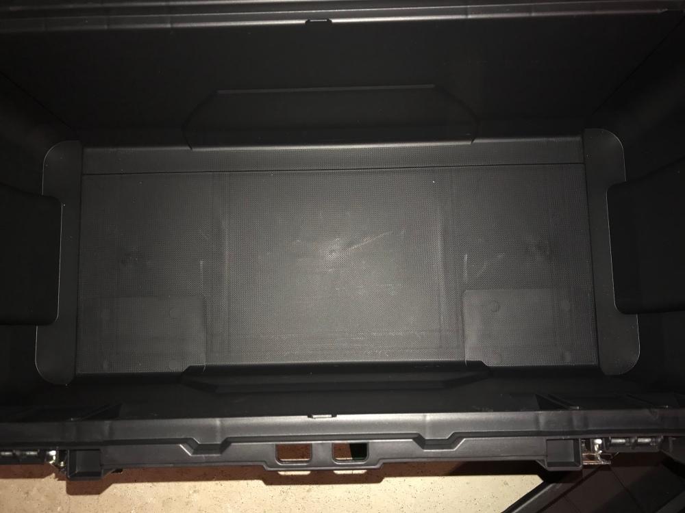 Inside toolbox